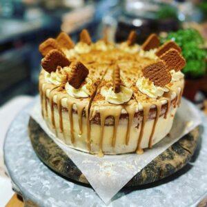 Biscoff Cake - Forage at Wadswick