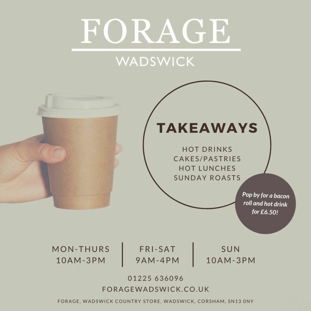 Forage Takeaways - November Lockdown Ad